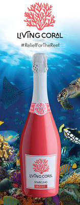 Living Coral Sparkling Rose is restoring hope for the worlds coral reefs with every bottle sold.