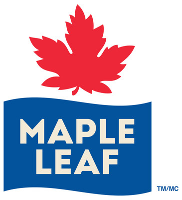 Logo Maple Leaf Foods Inc. (Groupe CNW/Les Aliments Maple Leaf Inc.)