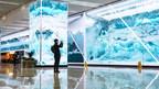 Centro de transportes de Xangai instala 1.800m² de painéis de LED da Absen