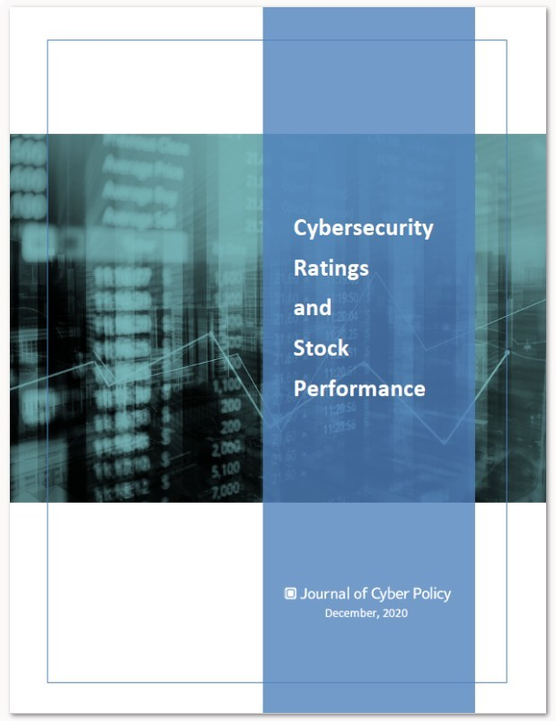 New Report Analyzes Stock Performance vs. Cybersecurity Ratings