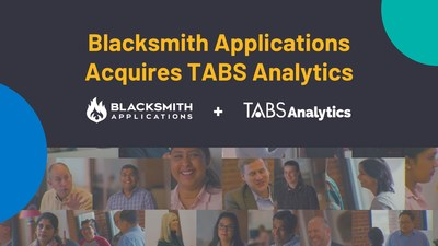 Blacksmith Applications acquired TABS Analytics. The combined entity brings together the market-leading trade effectiveness, data analytics, category management and shopper insights solutions of TABS with the technical acumen, trade management expertise and domain knowledge of Blacksmith.