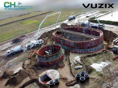 CH Four Biogas Deploys Vuzix Smart Glasses to Reduce its Costs and Carbon Footprint for Remote Inspections