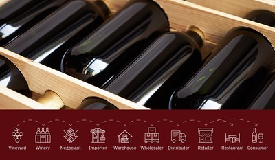 VinAssure is a supply chain platform that uses IBM blockchain to create a smarter way to track wine as it moves through distribution, from grape to glass.