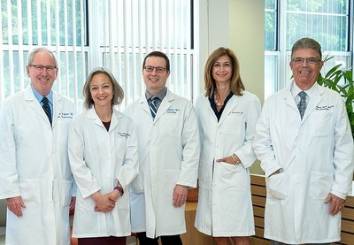 Lown Cardiology Group launches a concierge medicine practice in Boston, offering a highly individualized, non-invasive approach to care. Sharing a passion for patient-centered care are distinguished physicians; (l to r) Drs. Charles Blatt, Dara Lee Lewis, Brian Bilchik, Alyson Kelley-Hedgepeth and Shmuel Ravid.