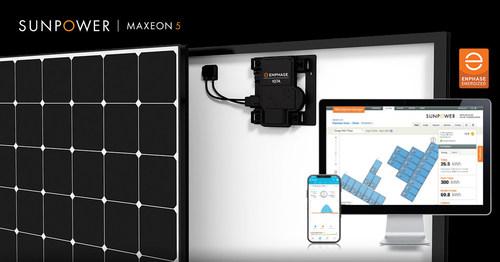 The new SunPower Maxeon 5 AC Module System (PRNewsFoto/Maxeon Solar Technologies, Ltd.)