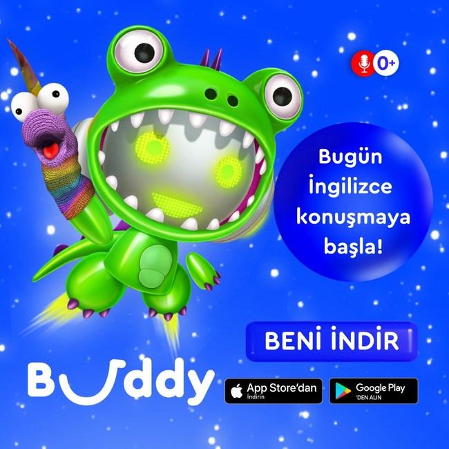 Hello! I'm Buddy, virtual English tutor for kids