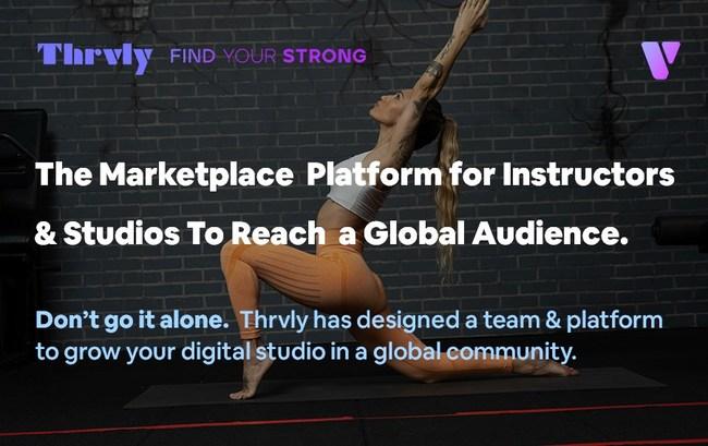 The Global Platform For Instructors & Studios