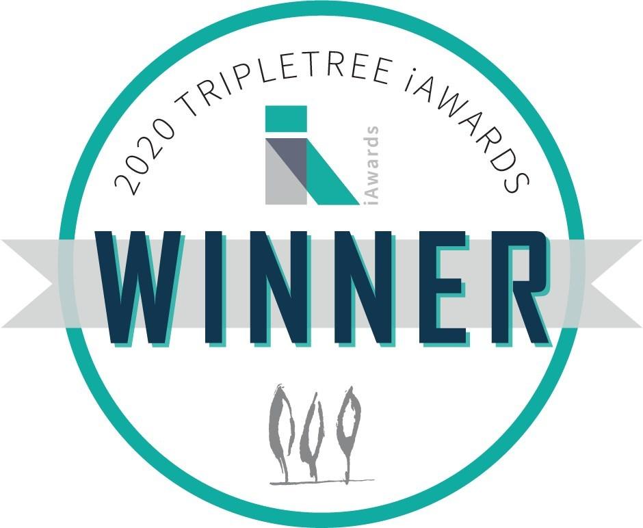 Twistle is proud to be named a TripleTree 2020 iAward winner!