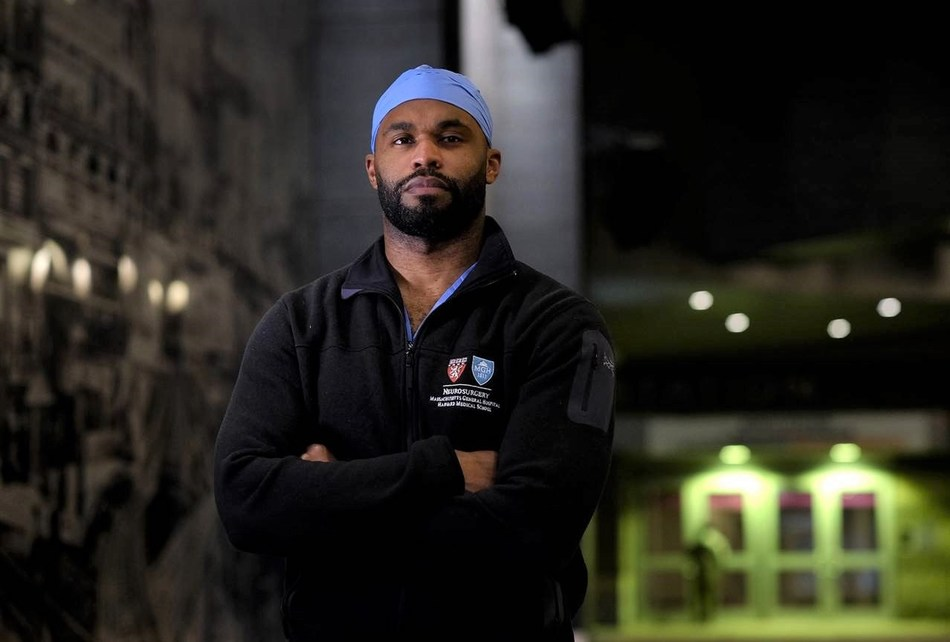 Dr. Myron Rolle, a former NFL safety, Rhodes Scholar and neuroscience resident
