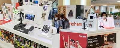 Hohem Gimbal Display in Store (PRNewsfoto/Hohem)
