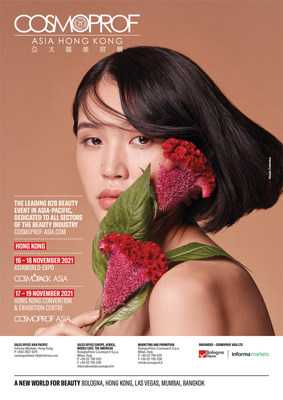 From 17 to 19 November, the Hong Kong Convention & Exhibition Centre will host Cosmoprof Asia's finished product brands including the Cosmetics & Toiletries, Clean & Hygiene, Beauty Salon & Spa, Hair Salon, Natural & Organic, Nail & Accessories sectors.
