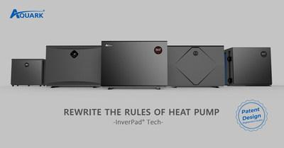 Aquark - Pad Inverter Pool Heat Pump Creator. Rewrite the Rules of Pool Heat Pump.