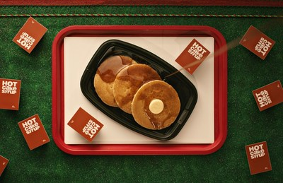 On Dec. 20, McDonald's will offer FREE Hotcakes inspired by Buddy the Elf with a $1 minimum purchase, exclusively on the McDonald's App.