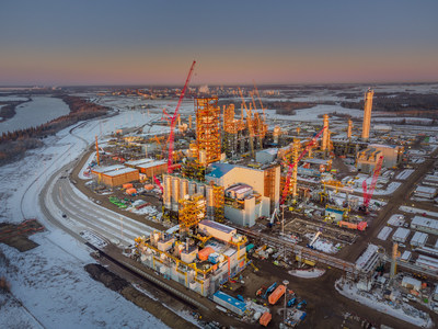 Inter Pipeline Heartland Petrochemical Complex December 2020 (CNW Group/Inter Pipeline Ltd.)