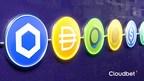 Cloudbet fügt LINK, DAI, PAX hinzu, schließt Rekordjahr für...