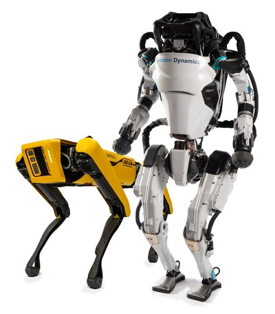 Hyundai Motor Group to Acquire Controlling Interest in Boston Dynamics from SoftBank Group, Boston Dynamics' Spot® and Atlas