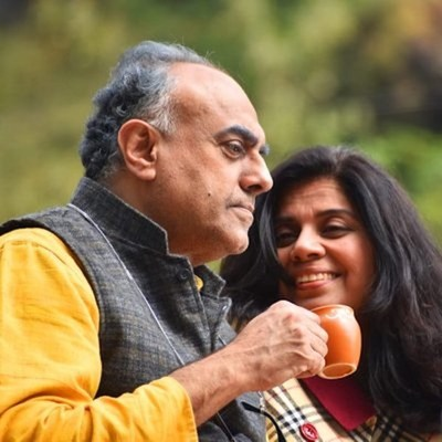 Meeta Vasisht as Poonam & Rajit Kapur as Suraj in 'Poonam'