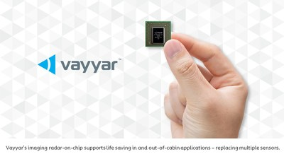 Vayyar's imaging radar-on-chip supports life-saving in and out-of-cabin applications – replacing multiple sensors