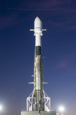 SiriusXM's SXM-7 ready for launch. Credit: SpaceX