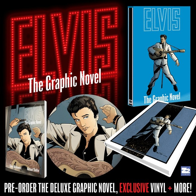 Elvis Graphic Novel Deluxe Editions