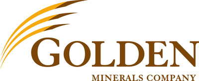 Golden Minerals Company News Release Logo. (PRNewsFoto/Golden Minerals Company)