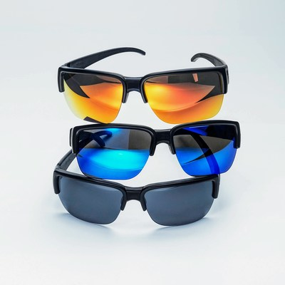 An image of King of Shades® SHUGS® Sunglasses that Hug™ sunglasses featuring the patent pending Koala dynamic head hugging auto-folding frame and XPO™ polarised lenses.  SHUGS are designed and manufactured in the UK.