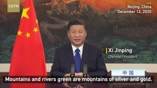 CGTN: China vows new measures as world leaders gather to fight climate change