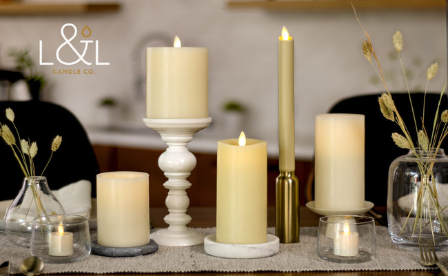 L&L Candle: Matchless, LightLi, and Luminara
