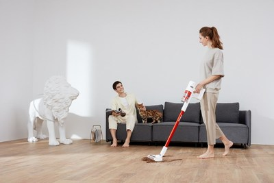 2020 Holiday Gift Idea: TROUVER POWER 11 Cordless Vacuum Creates an Effortless Housekeeping Experience.