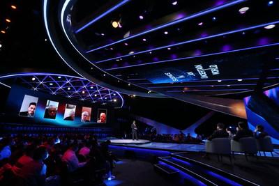 "El foro de TV ""Science in an Uncertain World"" (PRNewsfoto/China.org.cn)"