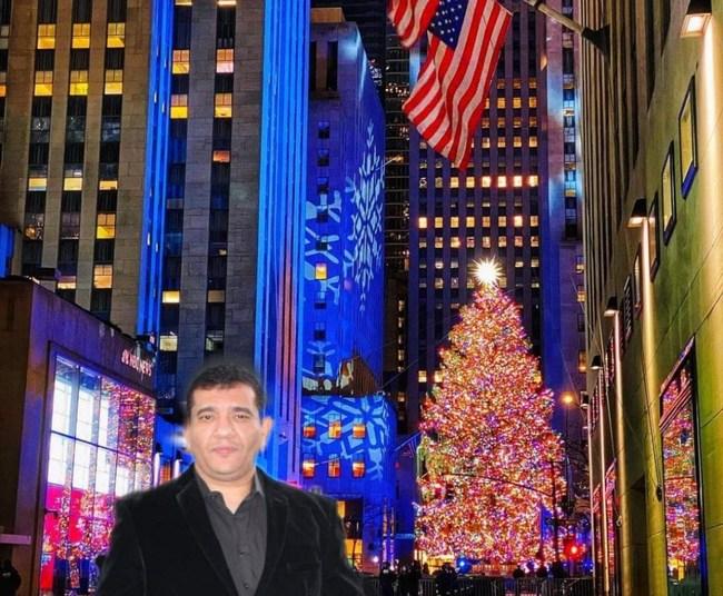 Candidate Khaled Salem for U.S. Senate in New York