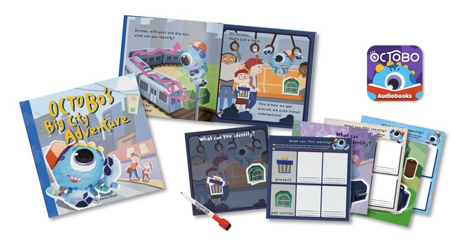 """Octobo's Big City Adventure"", A New Interactive Storybook by Thinker-Tinker Announces Availability for the Holiday Season"