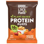 The Maker of the Happy Little Plants® Brand Launch New Plant-Based Protein Puffs