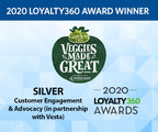 Veggies Made Great Voted Silver Winner of2020 Loyalty360 Awards...
