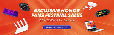 Exclusive HONOR Fans Festival Sales at HIHNOR Store