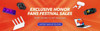 HONOR Christmas Gift 2020 to Celebrate Anniversary for HONOR Fan Fest with Surprising Deals on HIHONOR Store
