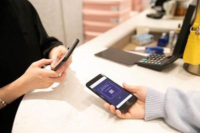 Customers can redeem online discounts or benefits offline