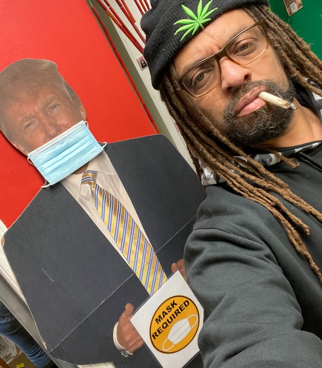 "Ed ""NJWeedman"" Forchion has announced a NJ/NYE Constitutional Amendment to Legalize Marijuana Virtual Smoke Out to be held at his NJWeedman's Joint on December 31, 2020.  The New Year's Eve 'joint' jam will celebrate the official opening of his Citizen's Dispensary on January 1, 2021 at his storefront location, directly across the street from Trenton City Hall. The live event will be limited in capacity due to Covid restrictions, but will stream online for free across social media platforms."