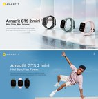 Meet the Amazfit GTS 2 mini - Latest Stylish Smartwatch and Lightweight Fitness Companion, with Upgraded Health Tracking and Smart Features