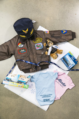 Alaska has gifts for the new parents in your life – from toys to cute and kitschy onesies. And, if you're looking for an extra special gift in honor of baby's first holiday, you can even donate Alaska miles in their honor.