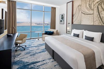 The stylish Wyndham Dubai Deira boasts 290 rooms and suites.