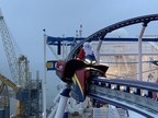 Yes Virginia, There Is A Roller Coaster On A Cruise Ship, And Santa Claus Just Rode It