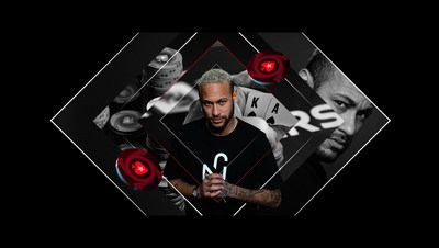 Stars Realign as Football Legend Neymar Jr Goes All In With PokerStars.