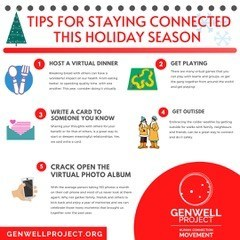 Tips for staying connected this holiday season (CNW Group/The GenWell Project)