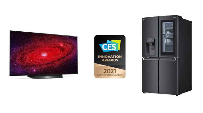 The Consumer Technology Association (CTA®) is recognizing LG Electronics for groundbreaking innovations in technology and design with a number of 2021 CES® Innovation Awards.