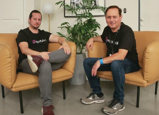 deepdub founders, Ofir and Nir Krakowski