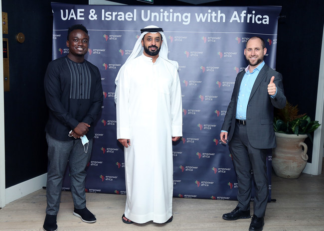 """Empower Africa hosting """"UAE and Israel Uniting with Africa"""" event in Dubai last week (PRNewsfoto/Empower Africa)"""