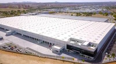 Montepino logistics platform in the Spanish city of Toledo. (PRNewsfoto/Montepino)