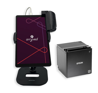 Arryved mobile POS and Epson Receipt Printer