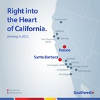 Southwest Airlines Intends To Serve Fresno And Santa Barbara